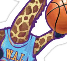 Wild Animal League Giraffe Basketball Star Sticker