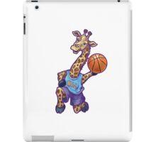 Wild Animal League Giraffe Basketball Star iPad Case/Skin