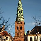St. Nikolaj Church in Copenhagen. by imagic