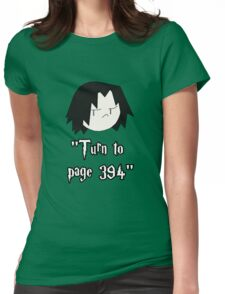 Turn to page 394 Womens Fitted T-Shirt