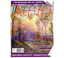 I made the Cover of 'Artist's Palette' Magazine! Poster