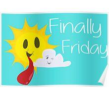 Finally Friday Poster