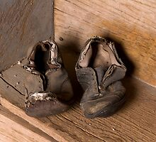These Shoes have walked some miles by Sue  Cullumber