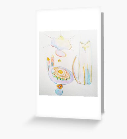Thoughts are Things Greeting Card