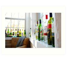 House Drinks Art Print