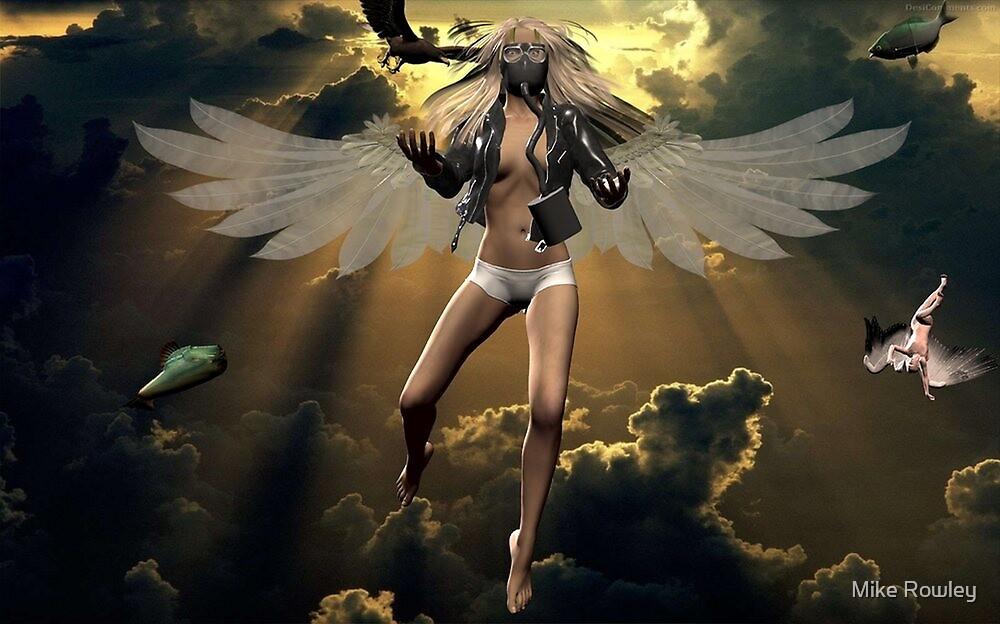 Angel Of Despair by Mike Rowley