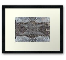 Grey. Framed Print