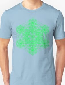 Infinity Cube Green Unisex T-Shirt