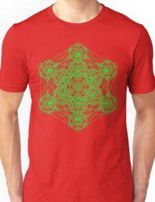 Infinity Cube Green Unisex T-Shirt