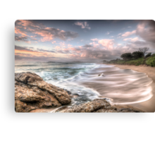 Dawn of the end of 2010 Canvas Print