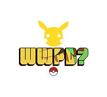 What Would Pikachu Do? Photographic Print