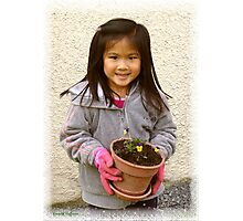 The New Gardener Photographic Print
