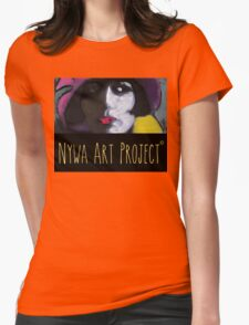 Beautiful woman - Art Womens Fitted T-Shirt