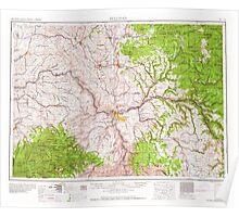 USGS Topo Map Washington Pullman 243311 1958 250000 Poster