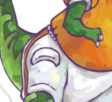 Wild Animal League Dino Football Star Sticker