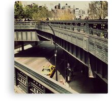 New York High Line. New York City, New York Canvas Print