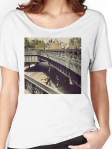 New York High Line. New York City, New York Women's Relaxed Fit T-Shirt