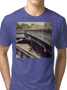 New York High Line. New York City, New York Tri-blend T-Shirt