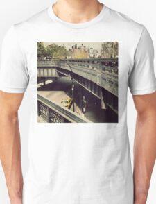 New York High Line. New York City, New York T-Shirt