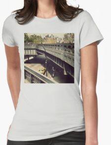 New York High Line. New York City, New York Womens Fitted T-Shirt