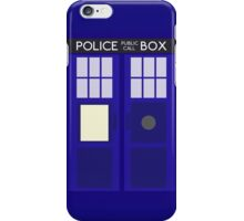 Dr Who TARDIS Minimalist iPhone Case/Skin