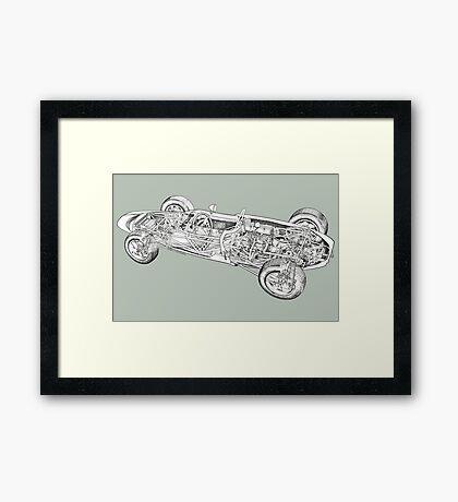 Lotus Sports car. Framed Print