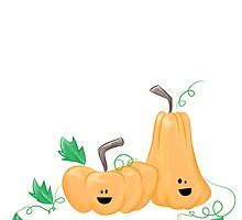 Cute Fall Pumpkins by angmermsmith