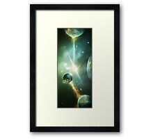 Time Sphere 2 Framed Print