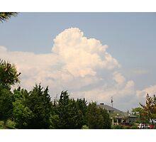 Towering cumulus Photographic Print