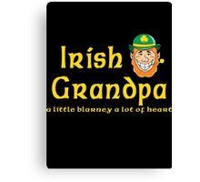 Irish Grandpa Canvas Print