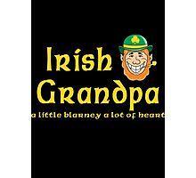 Irish Grandpa Photographic Print