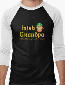 Irish Grandpa Men's Baseball ¾ T-Shirt