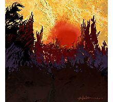 """Rising Sun"" Photographic Print"