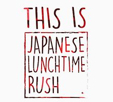 Japanese Lunchtime Rush. Unisex T-Shirt