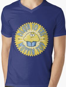 Death To The Muffin Top Mens V-Neck T-Shirt