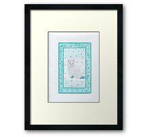 Kitten Playful Framed Print