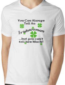Funny Irish Woman Mens V-Neck T-Shirt