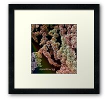 Goodness Framed Print