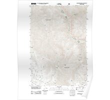 USGS Topo Map Oregon Deadhorse Ridge 20110829 TM Poster