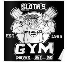 Never Say Die Gym Poster