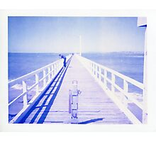 Blue pier - Point Lonsdale Photographic Print