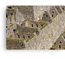 Una historia en los fragmentos de piedra Canvas Print