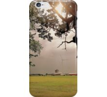 Tree Over Farm iPhone Case/Skin