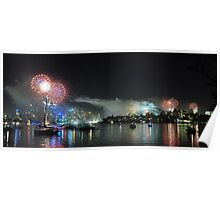 fireworks in sydney Poster