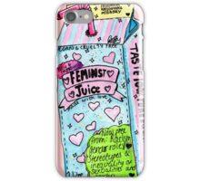 feminist juice iPhone Case/Skin