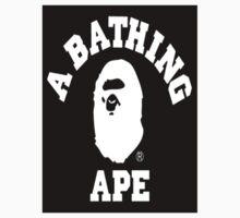 Black Bathing Ape Kids Tee