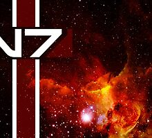 N7 Mass Effect by DragonStomp