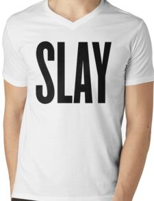 Slay Mens V-Neck T-Shirt