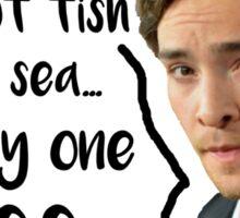 Plenty of Fish in the Sea Sticker