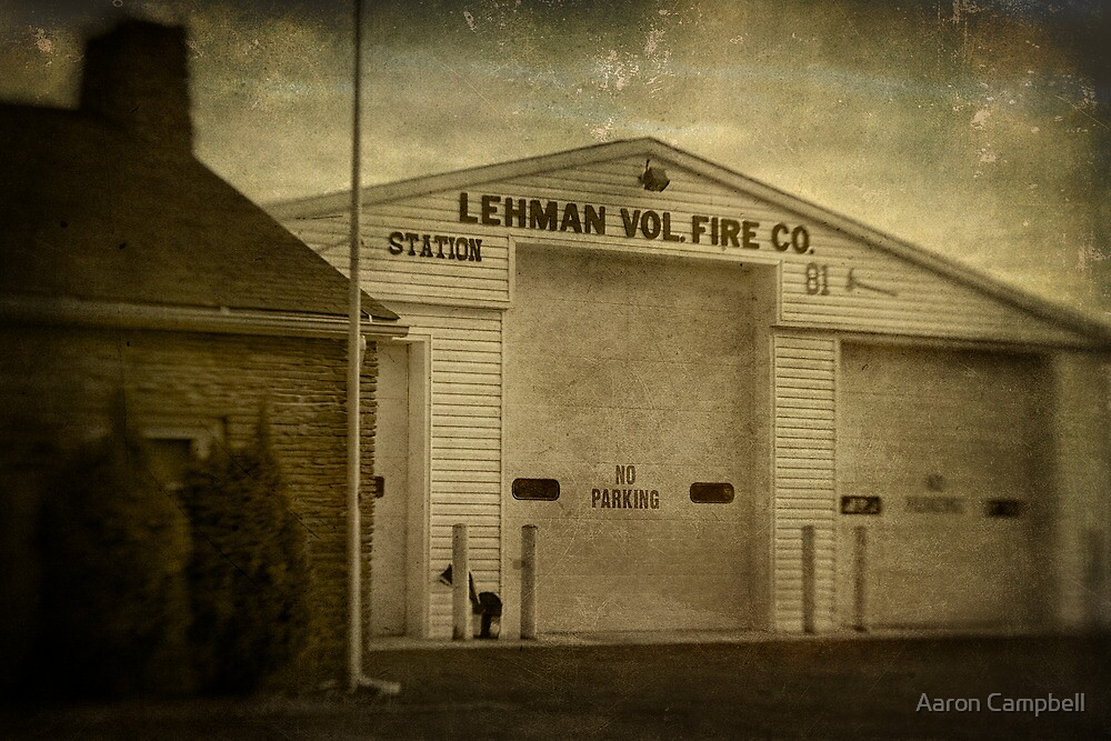 Lehman Vol. Fire Co. by Aaron Campbell